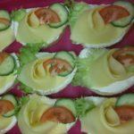 domácí sýrový chlebíček