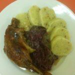 náš svatomartinský oběd - pečená kachnička